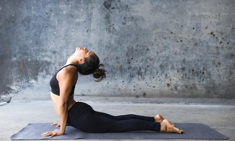 Yoga neck pain