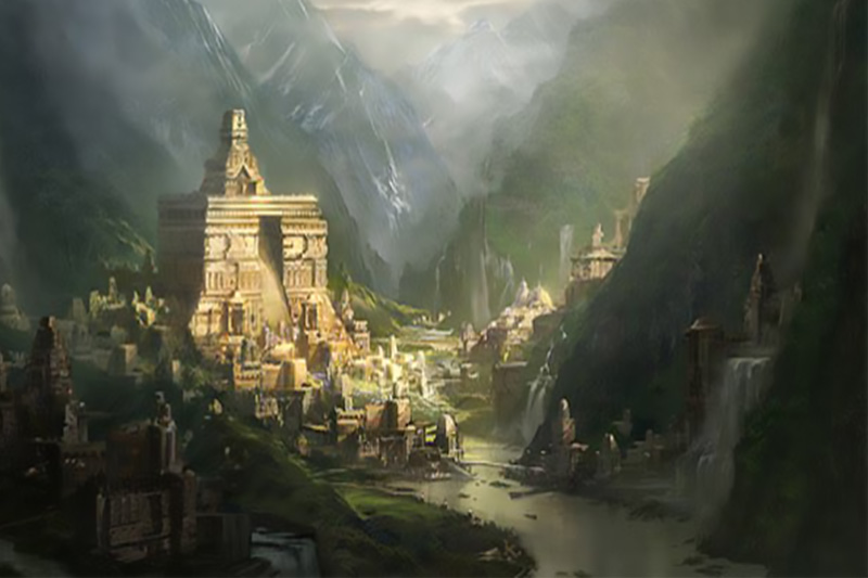 Shambhala: Mythical Kingdom in Tibetan Buddhism | Ana Heart Blog
