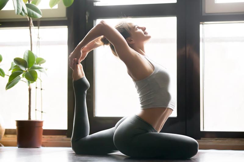Yoga abdominal fat