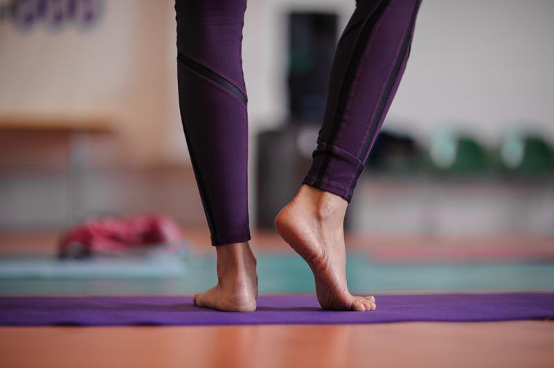 Yoga achy feet