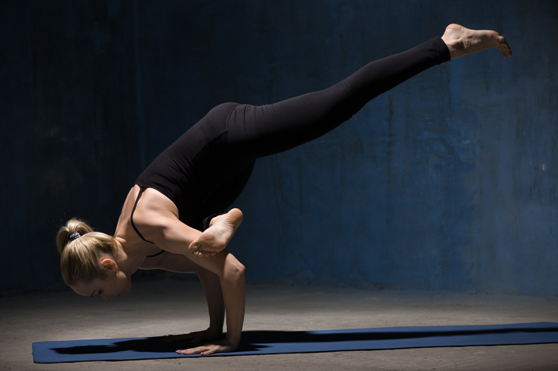 Yoga arms strength