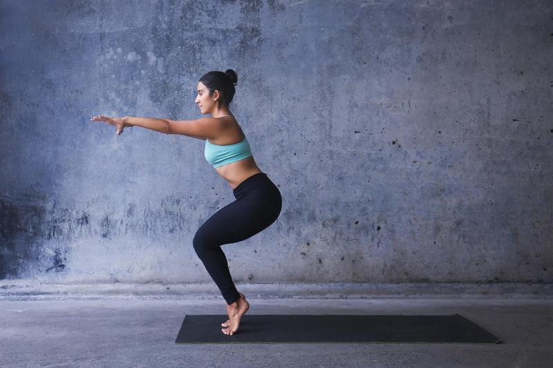 yoga breast