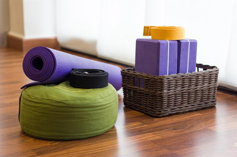 yoga accessories practice