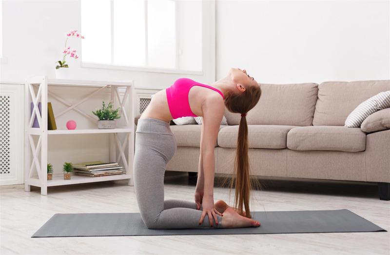 yoga crub hair