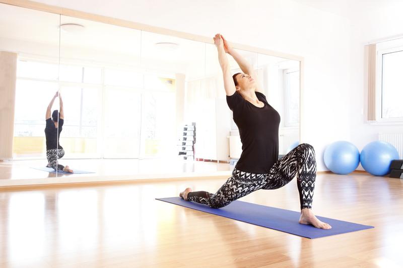 Yoga often
