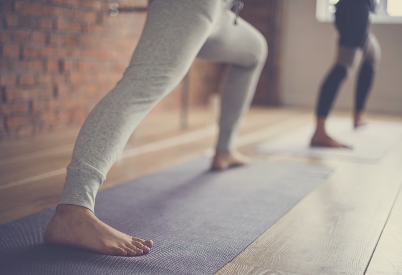 Yoga folded