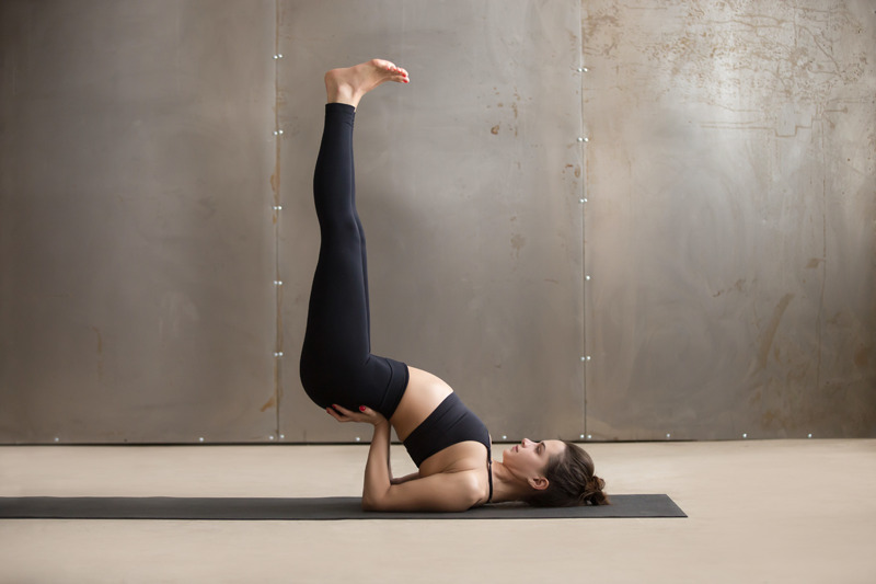 Yoga intermediate poses