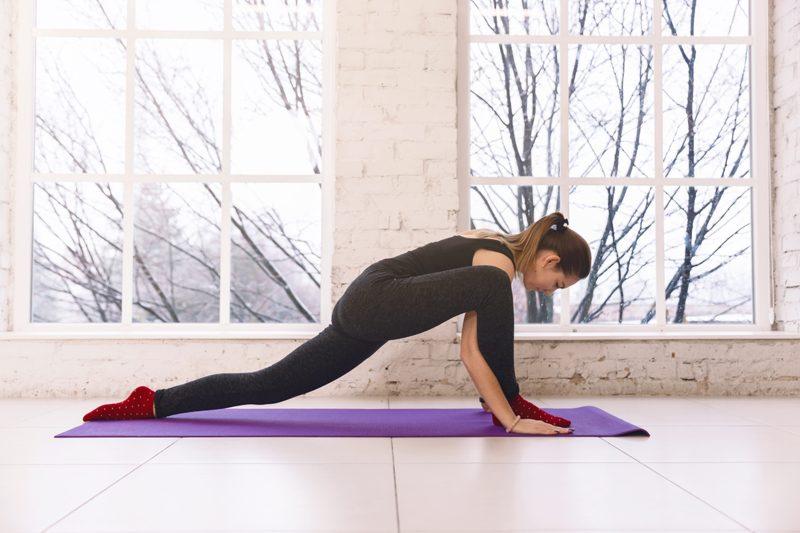 Yoga routine 2019