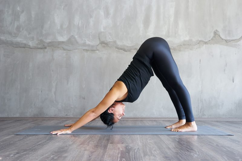 yoga poses body change