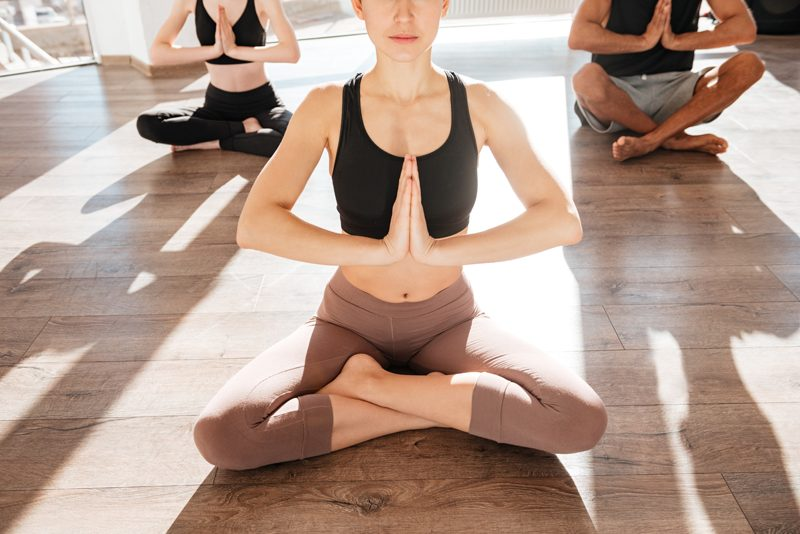 Yoga healing practice