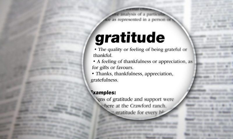 Yoga gratitude