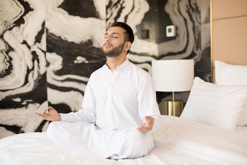 How to Meditate Before Bed